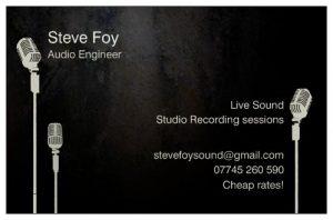 steve's card